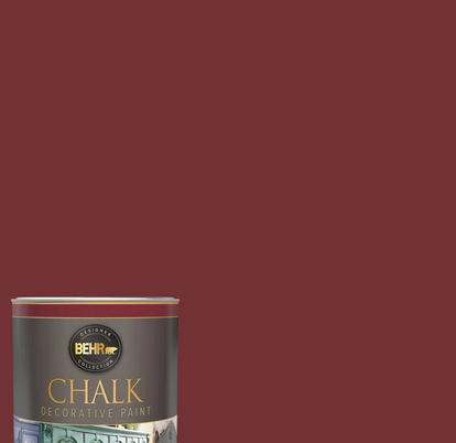 Behr chalk paint red ochre